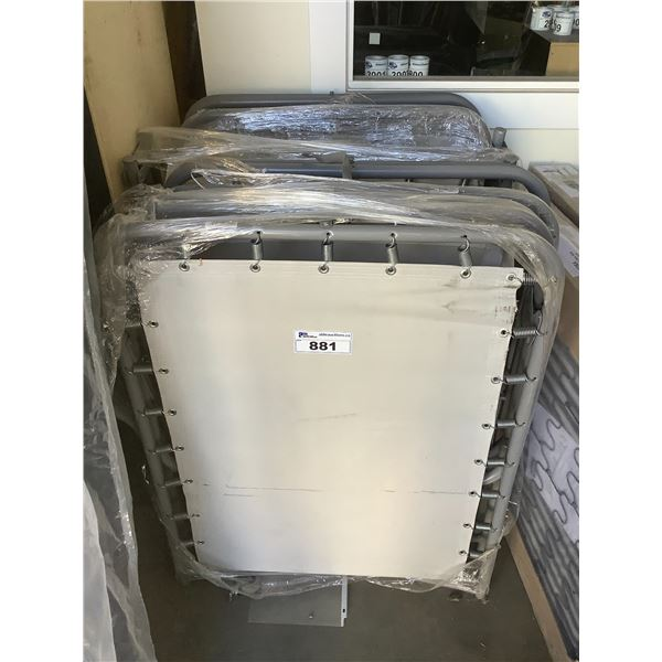 4 SINGLE SIZED FOLDING BED COTS