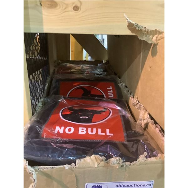 """APPROX 12 NEW """"NO BULL"""" ASSORTED SIZE SHIRTS WITH SOUND FEATURE"""