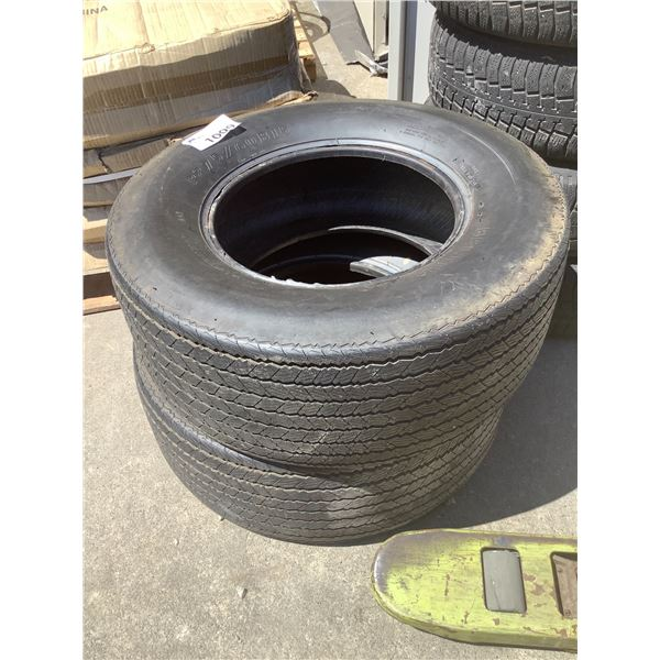 2 BELTED P275/60B15 TIRES