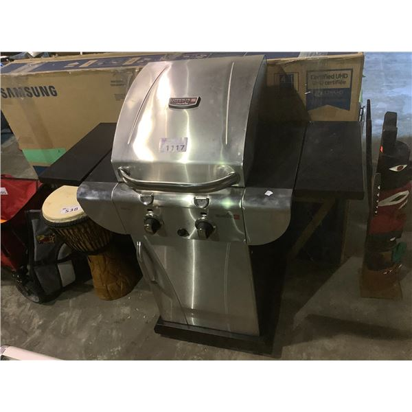COMMERCIAL INFRARED CHAR-BROIL PROPANE BBQ