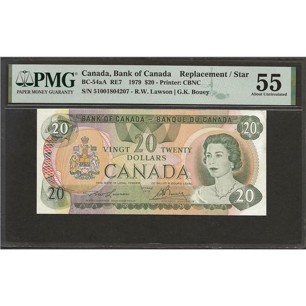 Canada BC-54aA 1979 $20 510 Replacement AU55 PMG