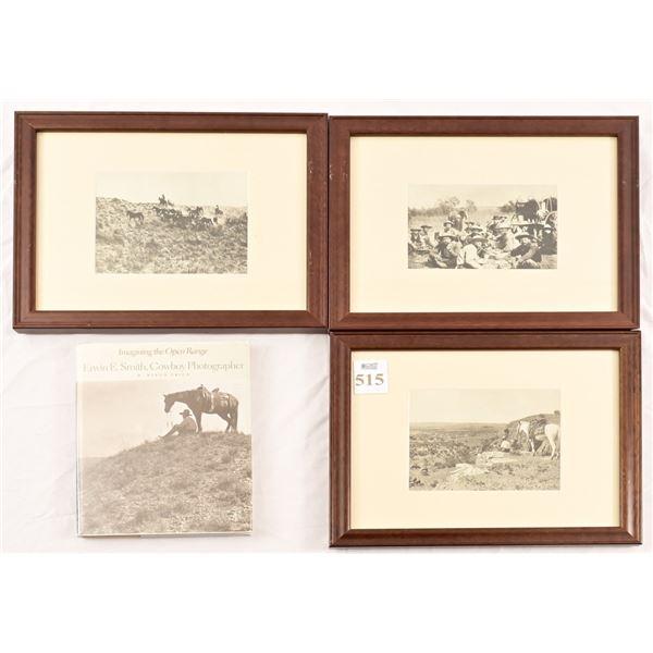 (3) Erwin E. Smith Framed Photo Print Collection
