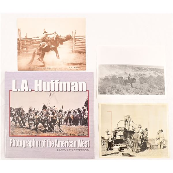 Collection of L.A. Huffman Photographs & Book