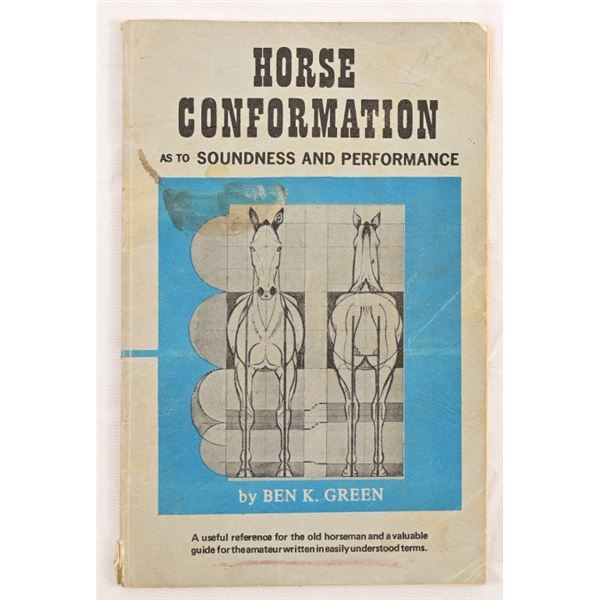 """""""Horse Conformation"""", by Ben K. Green"""