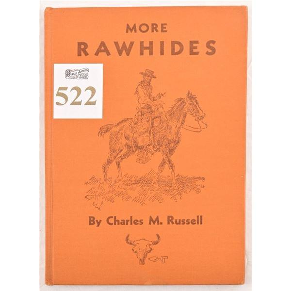 """""""More Rawhides""""by Charles M. Russell"""