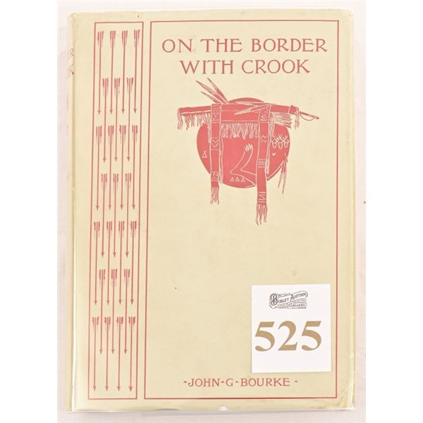 """""""On The Border With Crook""""by John G.Bourke."""