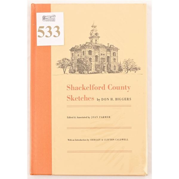 """""""Shackelford County Sketches"""" by Don H. Biggers"""