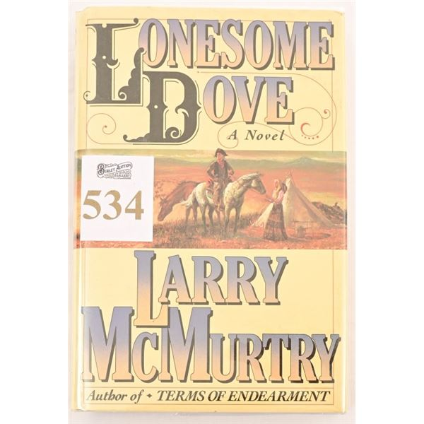 """""""Lonesome Dove """"by Larry McMurtry"""