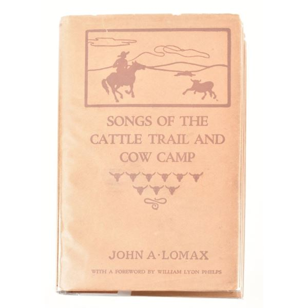 """""""Songs of the Cattle Trail and Cow Camp"""""""