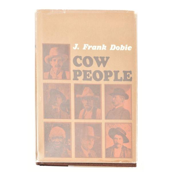 """Cow People"" by J. Frank Dobie"