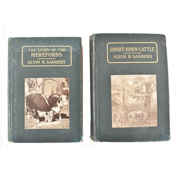 (2) Alvin H. Sanders Books