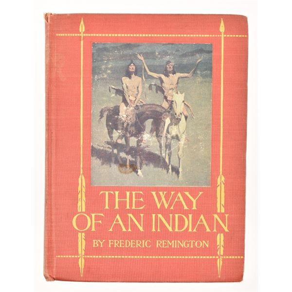 """""""The Way of an Indian"""" by Frederic Remington"""