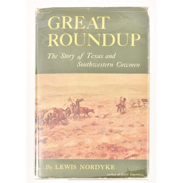 """""""Great Roundup"""" by Lewis Nordyke"""