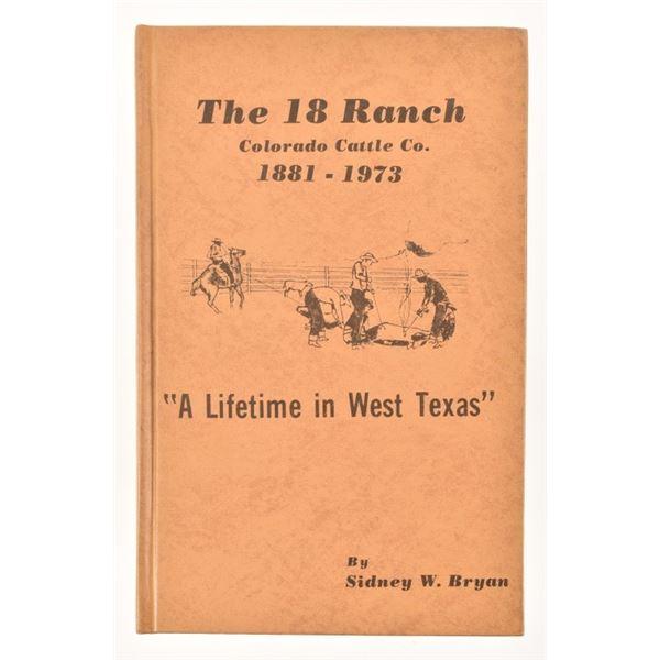 """The 18 Ranch"" by Sidney W. Bryan"