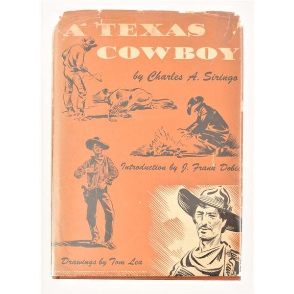 """A Texas Cowboy"" by Charles A. Siringo"