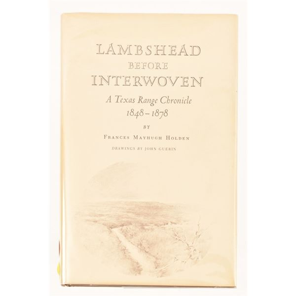 """""""Lambshead Before Interwoven"""" by Frances Holden"""