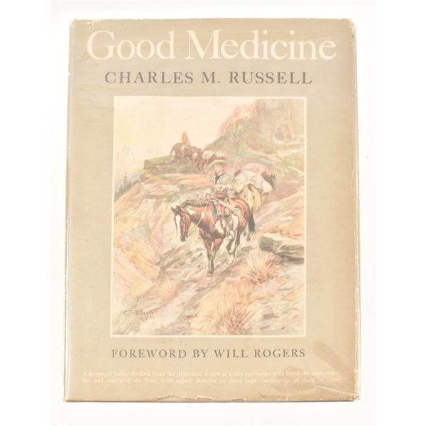"""""""Good Medicine"""" by Charles M. Russell"""