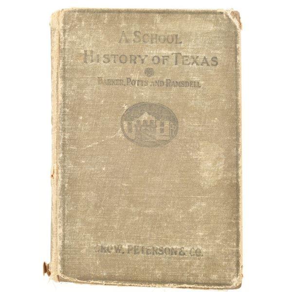 """A School History of Texas"""