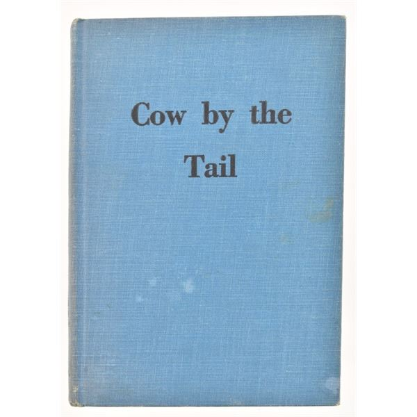 """""""Cow by the Tail"""" by Jesse James Benton"""
