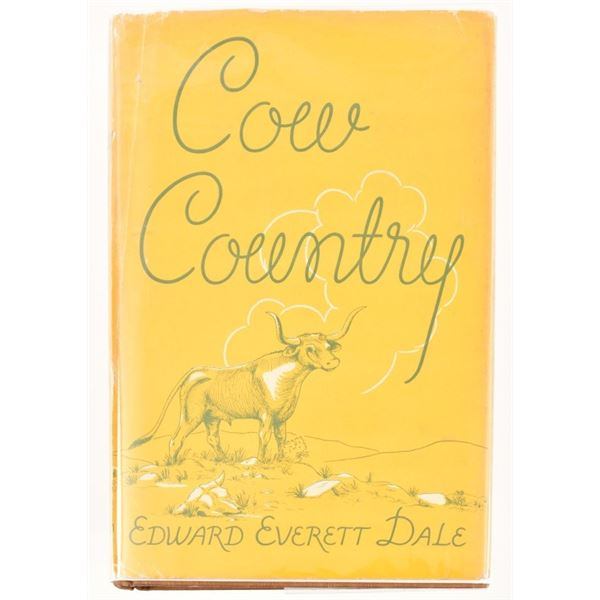 """""""Cow Country"""" by Edward Everett Dale"""