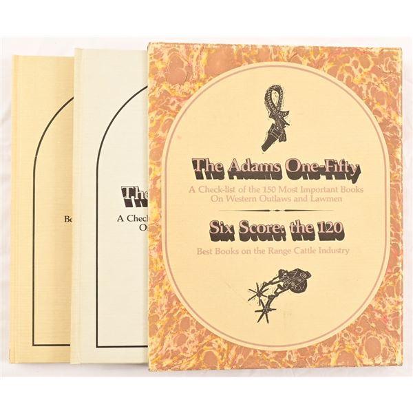 Adams / Reese / Jenkins Volume Set I & II