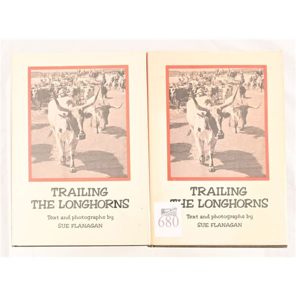 """(2) Copies of """"Trailing The Longhorns"""""""