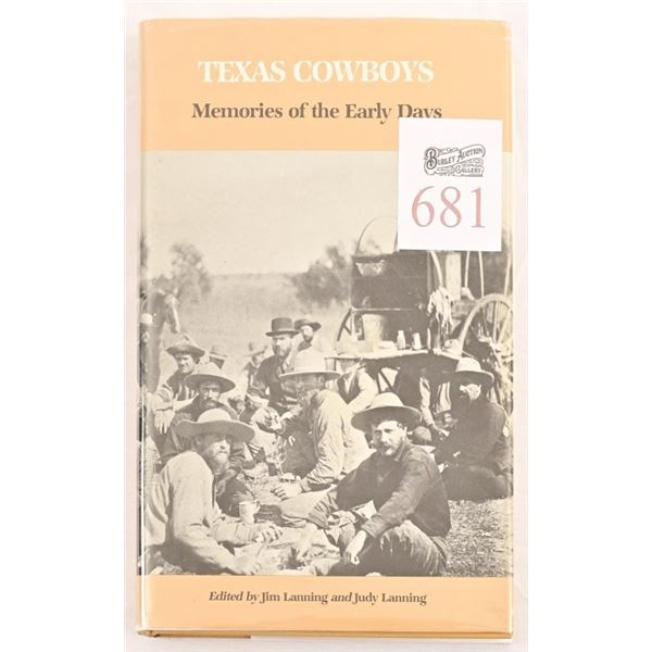 """""""Texas Cowboys"""", Memories of the Early Days"""