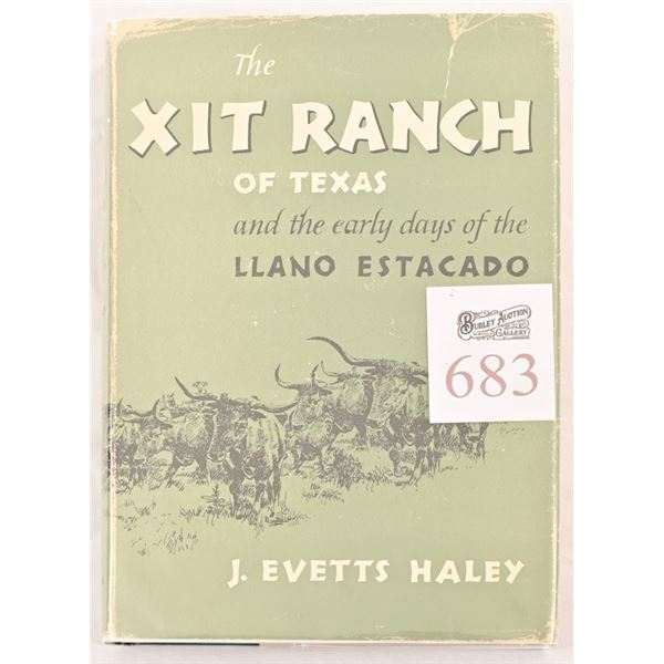 """""""The XIT Ranch of Texas"""" by J. Evetts Haley"""