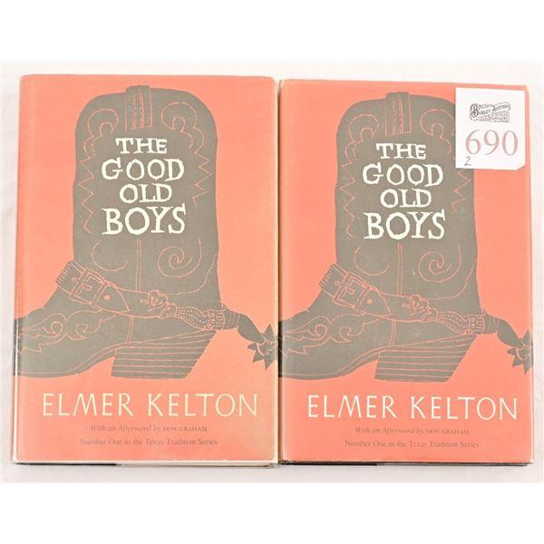"(2) Copies of ""The Good Old Boys"" by Elmer Kelton"