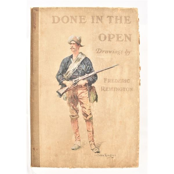 """""""Done in the Open"""" by Frederic Remington"""