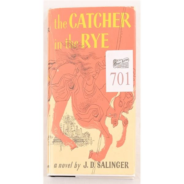 """""""The Catcher in The Rye"""" by J.D Salinger"""