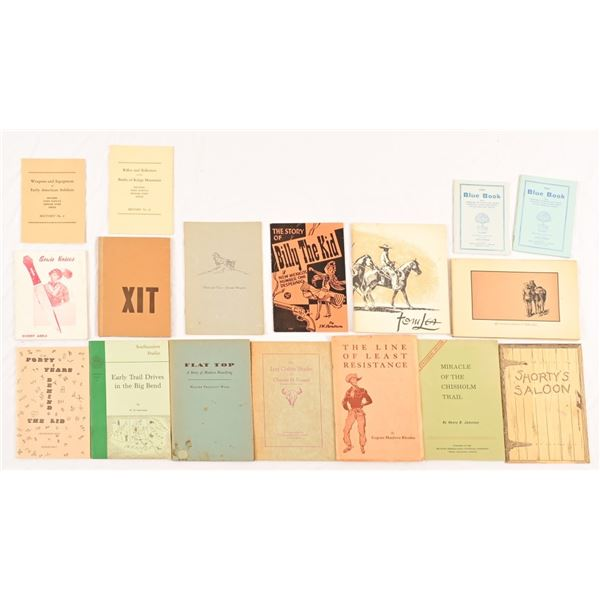 Collection of Cowboy Outlaws Booklets