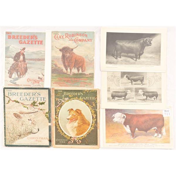 Breeders Gazette Posters / Publications