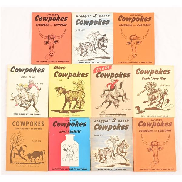 Collection of Cowpokes Books