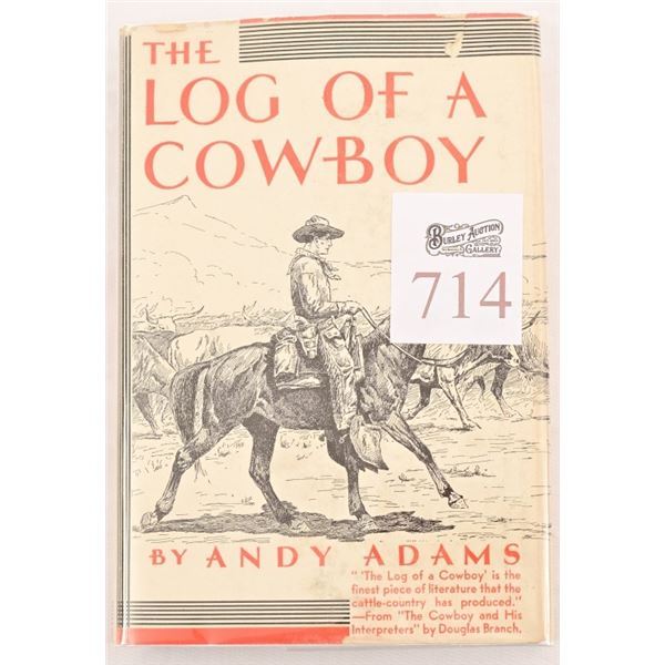 """Andy Abrams """"The Log Of A Cowboy"""""""