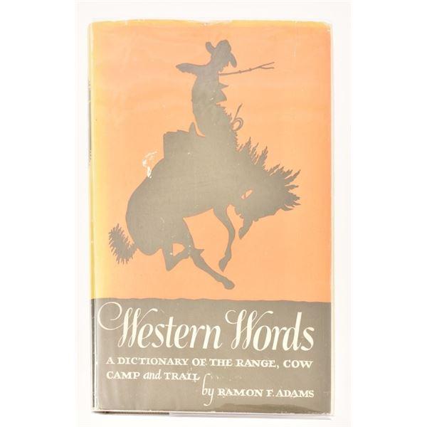 """""""Western Words"""" by Ramon F. Adams"""
