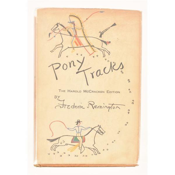 """Pony Tracks"" Harold McCraken Edition"