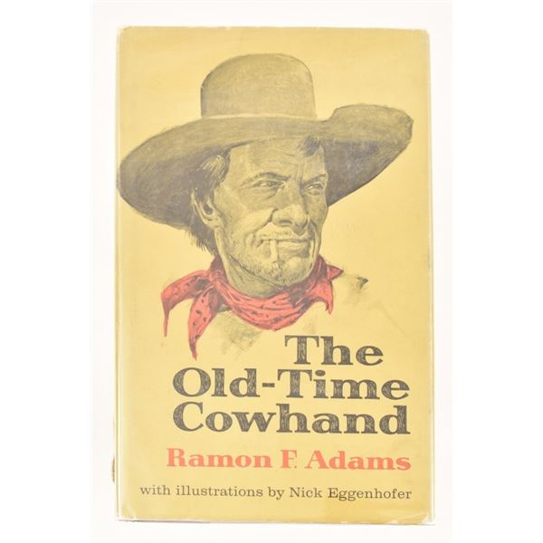 """""""The Old-Time Cowhand"""" by Ramon F Adams"""