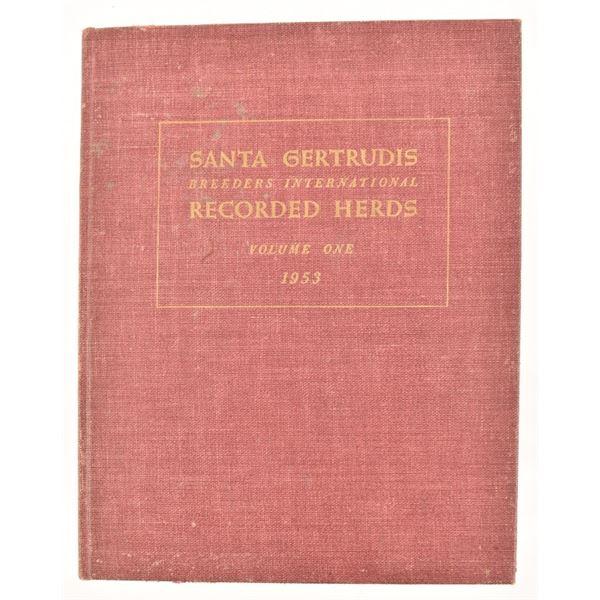 """Santa Gertrudis Recorded Herds"" vol1"