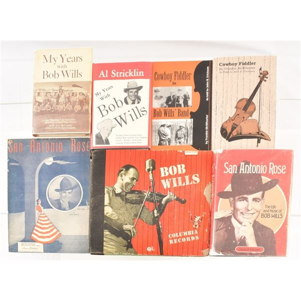 Bob Wills Literature and Records Collection