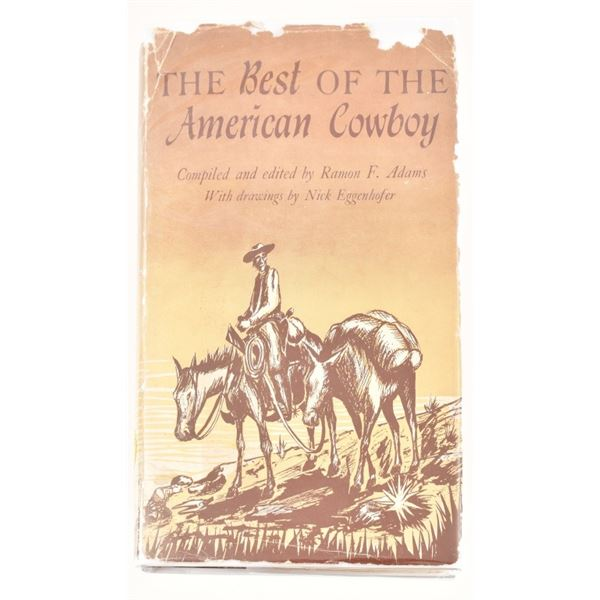 """""""The Best of the American Cowboy"""" by Ramon F. Adam"""