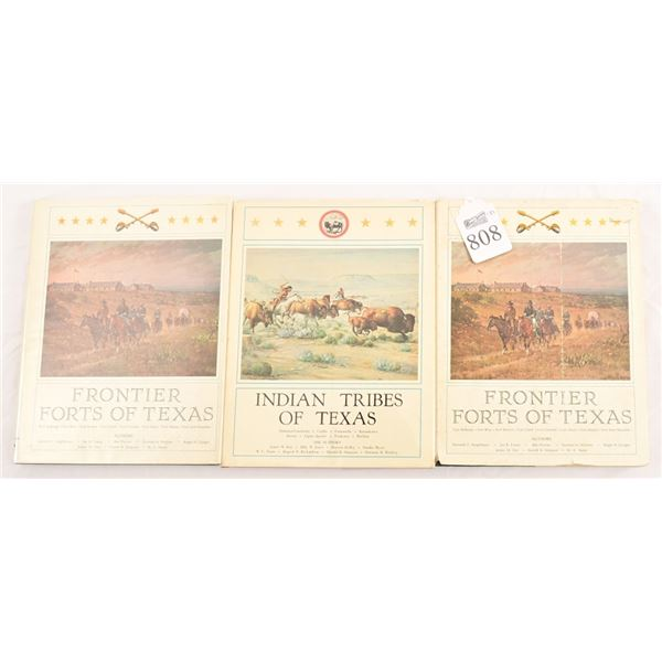 Collection of (3) Texian Press Books