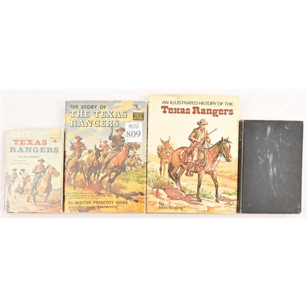 Collection of Texas Rangers Novels.