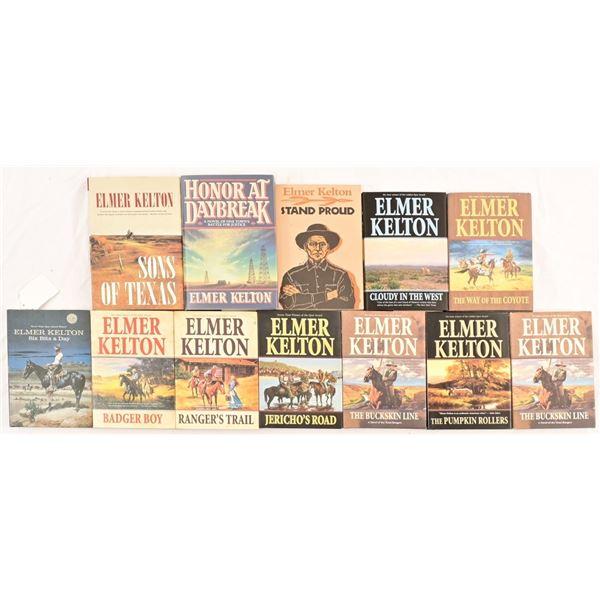 Collection of Elmer Kelton Books