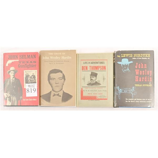 Collection of Texas Gunfighter Novels