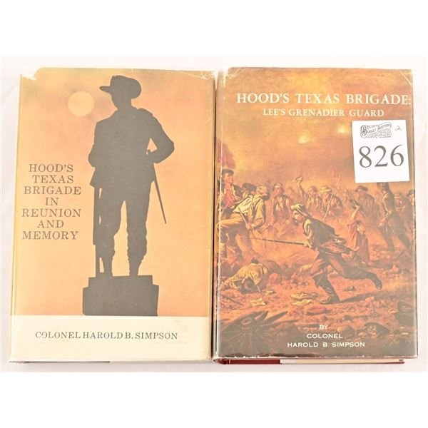 "(2) Copies of ""Hood's Texas Brigade"""
