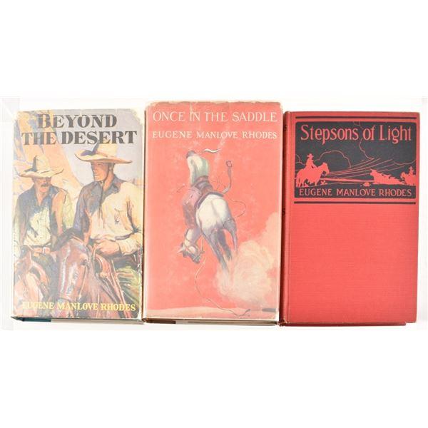 (3) Eugene Manlove Rhodes Books