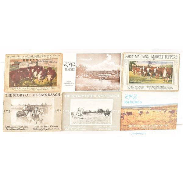 Collection of (6) SMS Ranch Booklets