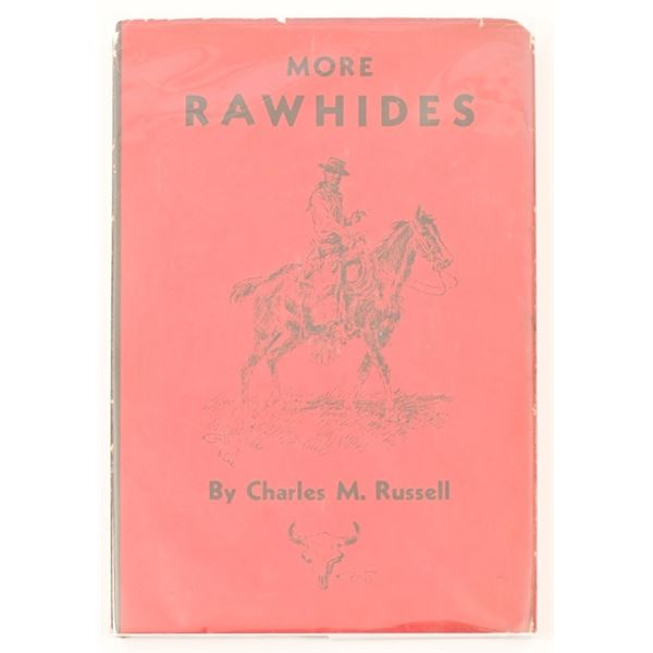 """""""More Rawhides"""" by Charles M. Russell"""