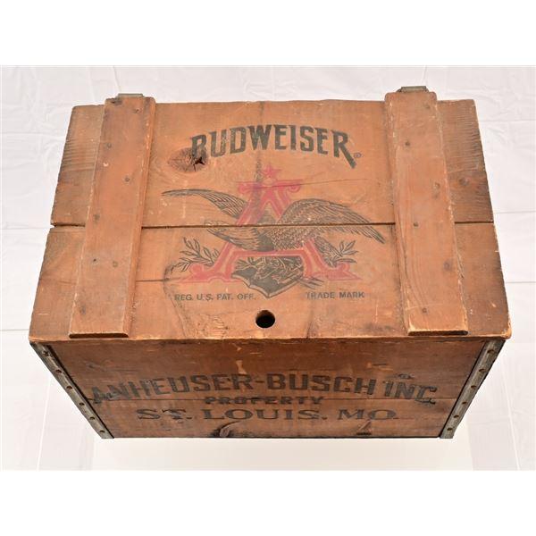 Anheuser Busch Centennial Wooden Beer Crate